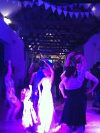 Wedding Barn Dance at The Corn Barn, Cullompton, Devon