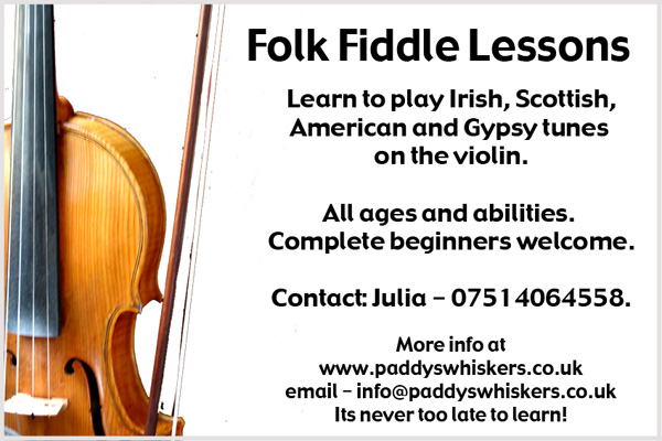 Learn to play Irish, Scottish, American and Gypsy Tunes on the violin or fiddle