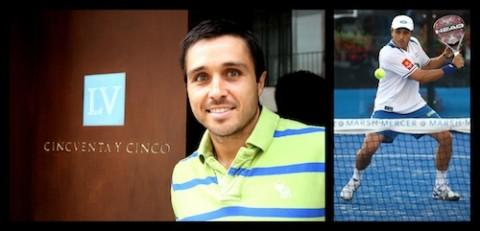 La agencia Cincuenta y Cinco ficha a Fernando Belasteguin