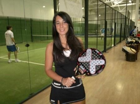 Cristina Rodriguez campona Cantabra padel padelgood Cristina Rodriguez (Team Nox). Campeona Cántabra de padel