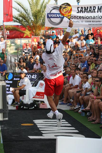 alicante final padelgood Partidazo de Juan y Bela en el World Padel Tour Alicante 2011