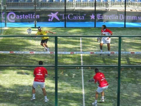 pptcastellon padelgood Caen Reca - Silingo en su primer partido del PPT de Castellón 2011