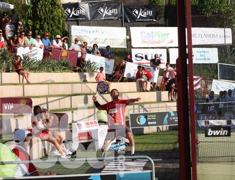 Toto sale pista Higuero¦ün 11 padelgood Las lesiones dejan a Almuñécar sin algunas figuras.