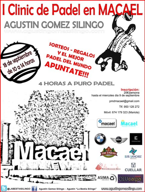 silingo macael padelgood Clinic de Silingo en Macael.