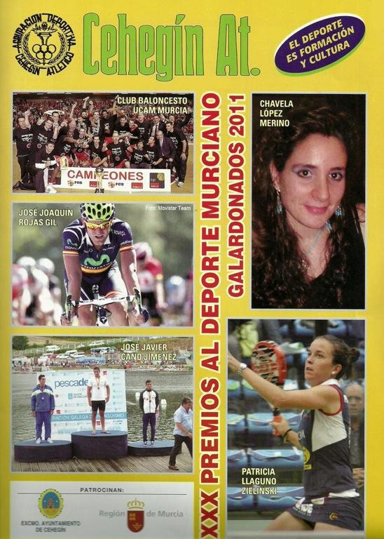 Premios deporte murciano XXX Patricia Llaguno Padelgood XXX Premios al Deporte Murciano premia a Patricia Llaguno