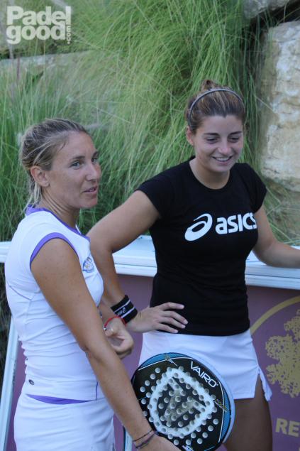 Vale Ale entrevista ResHigueron Padelgood 2011 4 PadelGood entrevista a Valeria Pavón y Alejandra Salazar!!!!!!