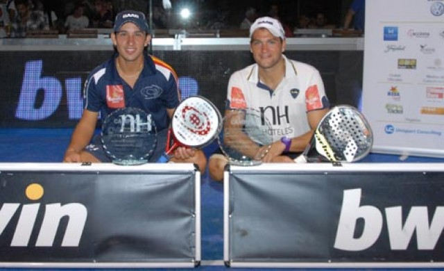 campeones mallorca padelgood e1316460847344 Nerone-Gutiérrez ganan su primer título Padel Pro Tour.