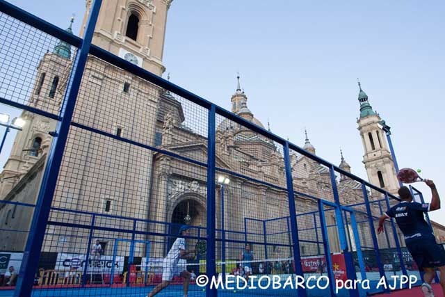 challenge zaragoza padelgood Final del AJPP Ciudad de Zaragoza.