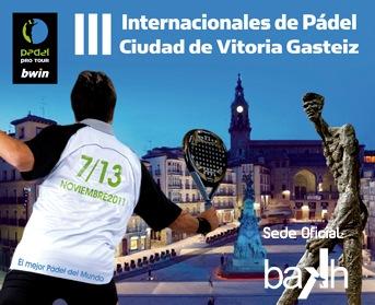 PPT BAKH padelgood El Master en juego en Vitoria.