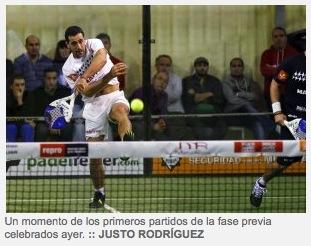 Internacionales LaRioja Justo Rodriguez padelgood PPT La Rioja: Los Internacionales reciben hoy a los mejores del circuito