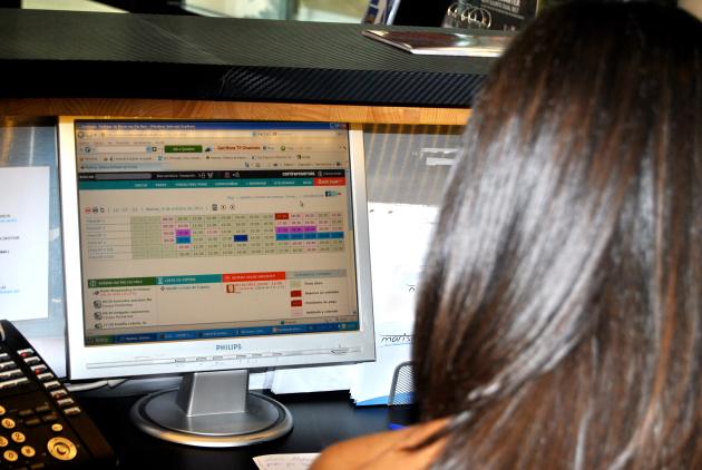 CENTRORESERVAS 20111 CENTRORESERVAS cobró más de 1.000.000 € en reservas on line en 2011