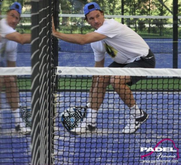 CarlosMoya Padelgood SD. Padel y Tennis Academy: Entrevista Carlos Moya e @iciarmontes por @PADELFemme