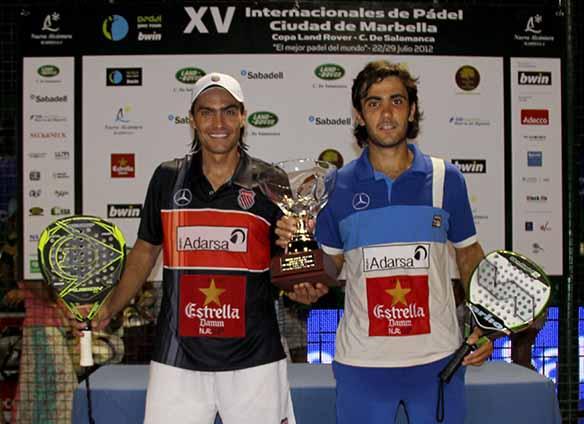 mieres lima Juani Mieres y Pablo Lima vencedores del PPT de Marbella
