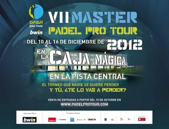 master El Master 2012 en la Caja Mágica de Madrid