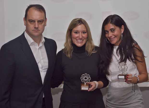 Campeonas de 1º categoría Land Rover Padel Tour: Master en Málaga