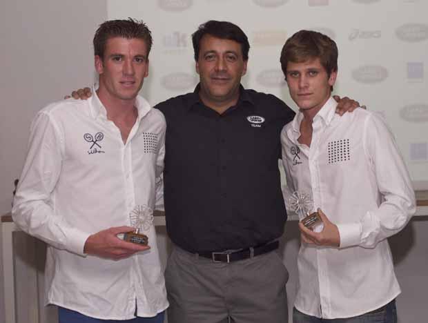 Campeones de 1º categoría Land Rover Padel Tour: Master en Málaga