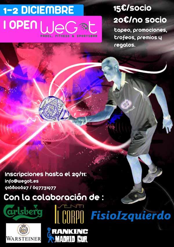 I Open WeGot I Open #Padel WEGOT INDOOR. Leganés #in