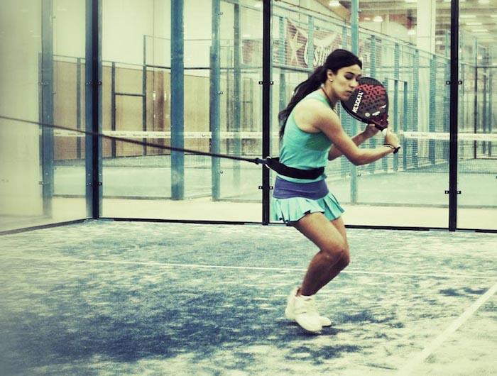 Sara Marcos entrenamiento fisico 2ª semana. Pretemporada de padel para jugadores amateurs