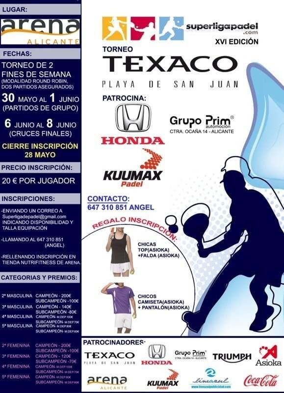 Torneo Texaco Playa de San Juan