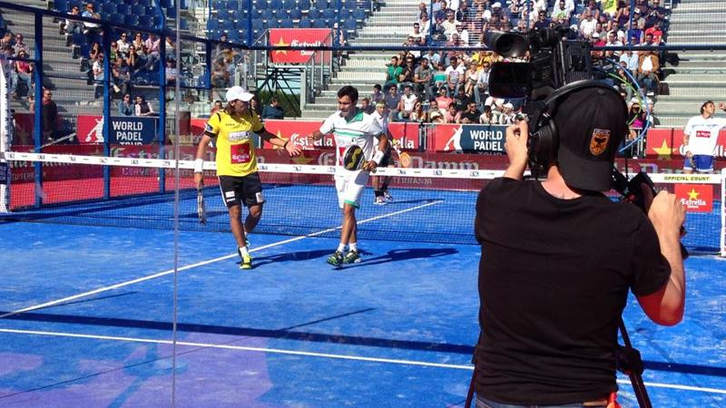 world padel tour barcelona television