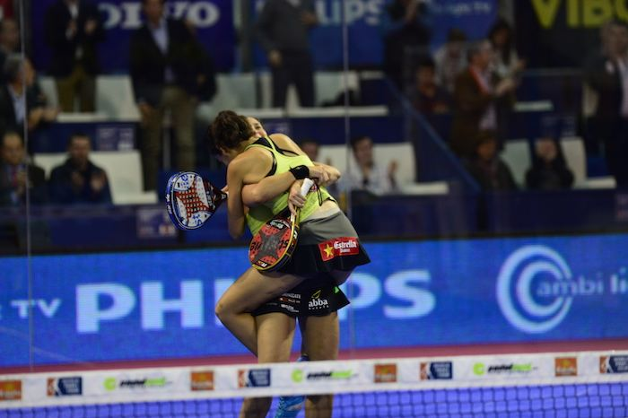 Master World Padel Tour campeonas