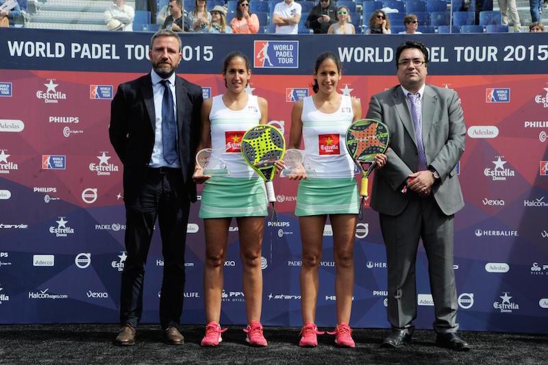Vencedoras Master World Padel Tour Barcelona
