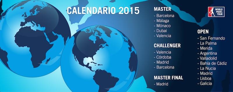 Calendario world padel tour 2015