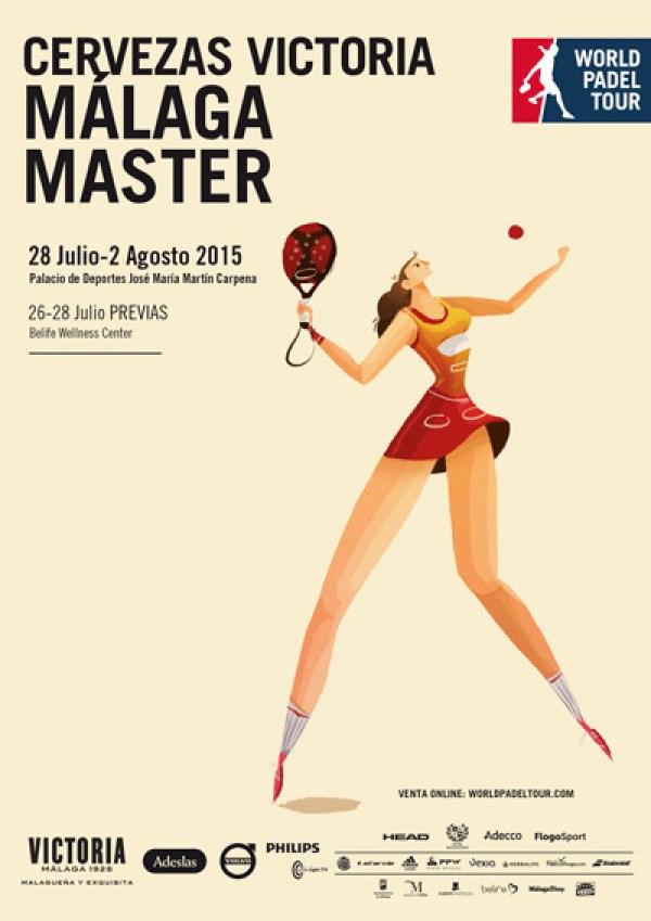 Cuadros y horarios Máster World Padel Tour Málaga 2015