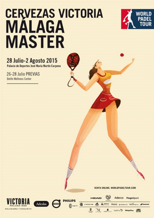 Master World Padel Tour Malaga