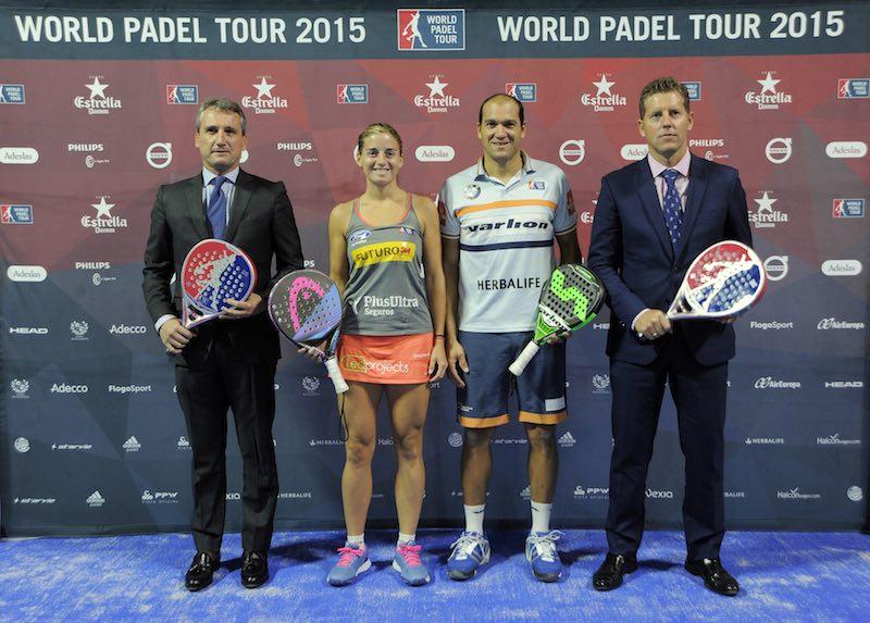 Presentación World Padel Tour Madrid 2015