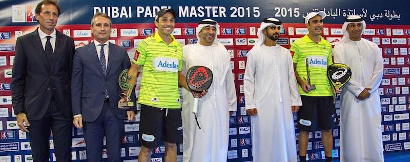 El mejor resumen en vídeo del Master World Padel Tour Dubai 2015