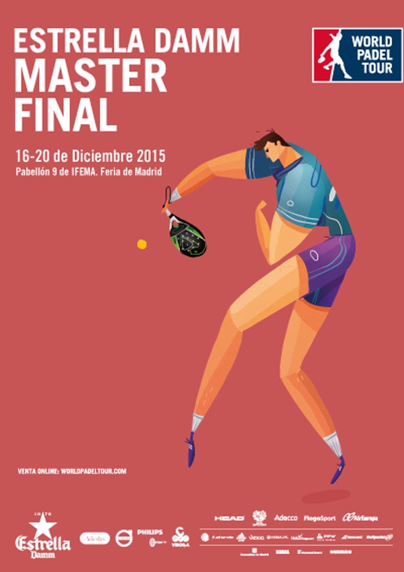 Grupos y horarios Máster World Padel Tour Madrid 2015