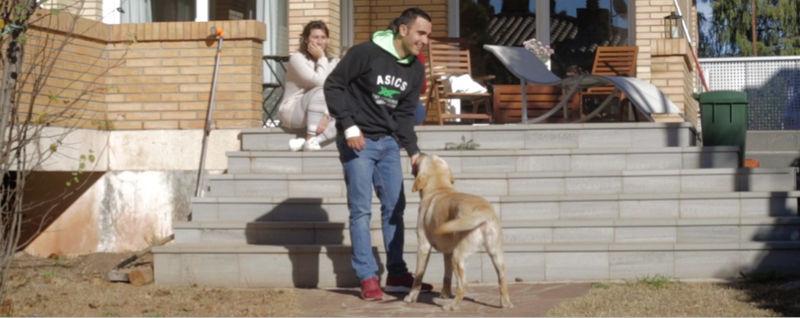 Pablo Lima en su casa
