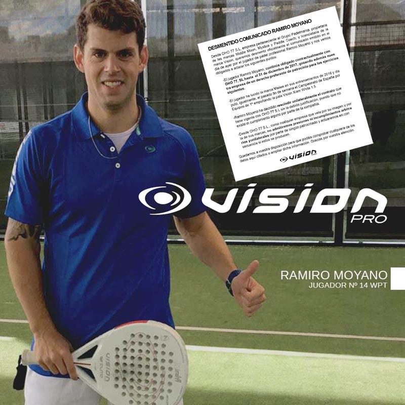 Vision desmiente el comunicado de Ramiro Moyano