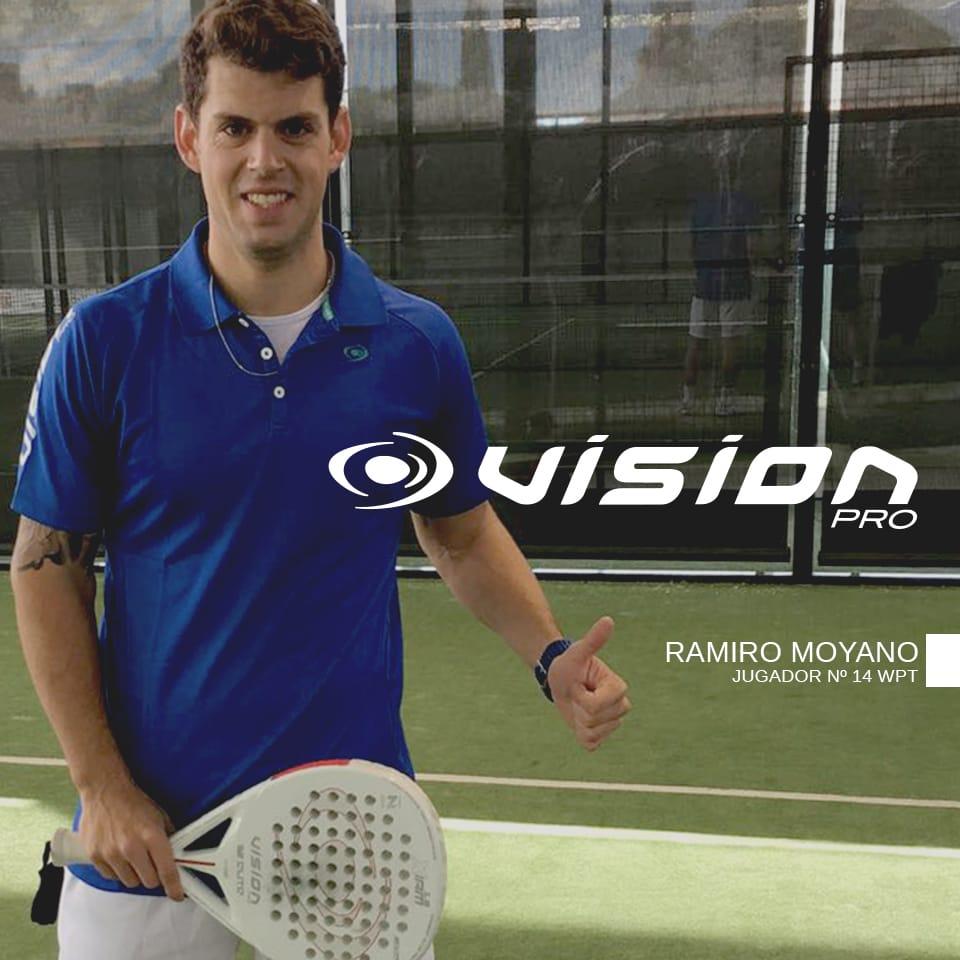 Ramiro Moyano ya es jugador Vision