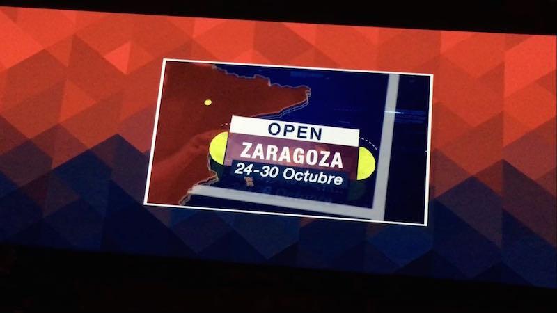 El World Pádel Tour llegará a Zaragoza