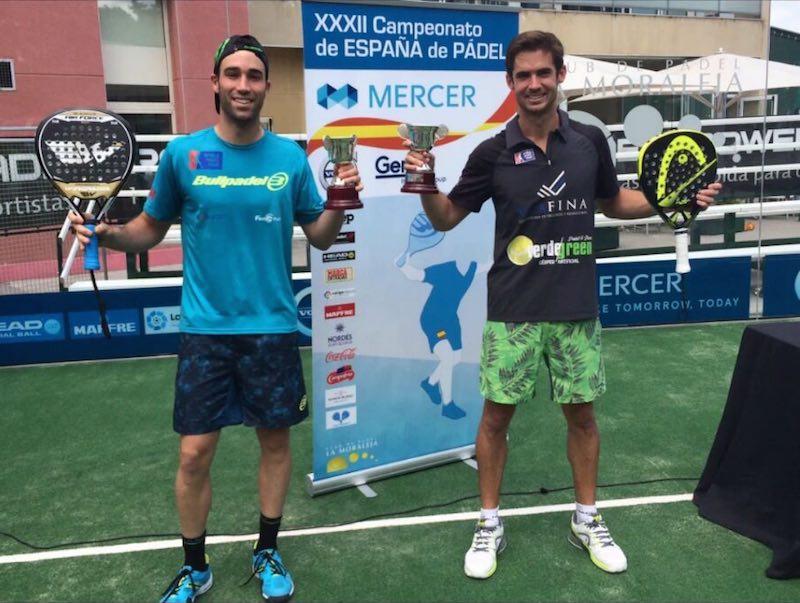 Javi Ruiz y Gonzalo Rubio, campeones de España 2016