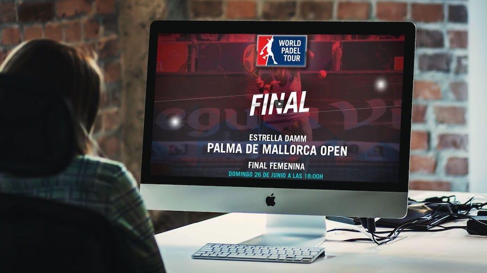 Final femenina World Padel Tour Palma de Mallorca 2016 online