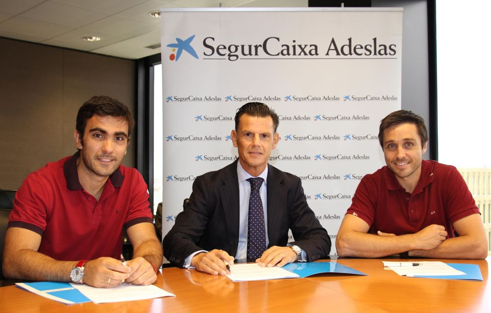 Adeslas seguirá siendo patrocinador de Belasteguin y Lima