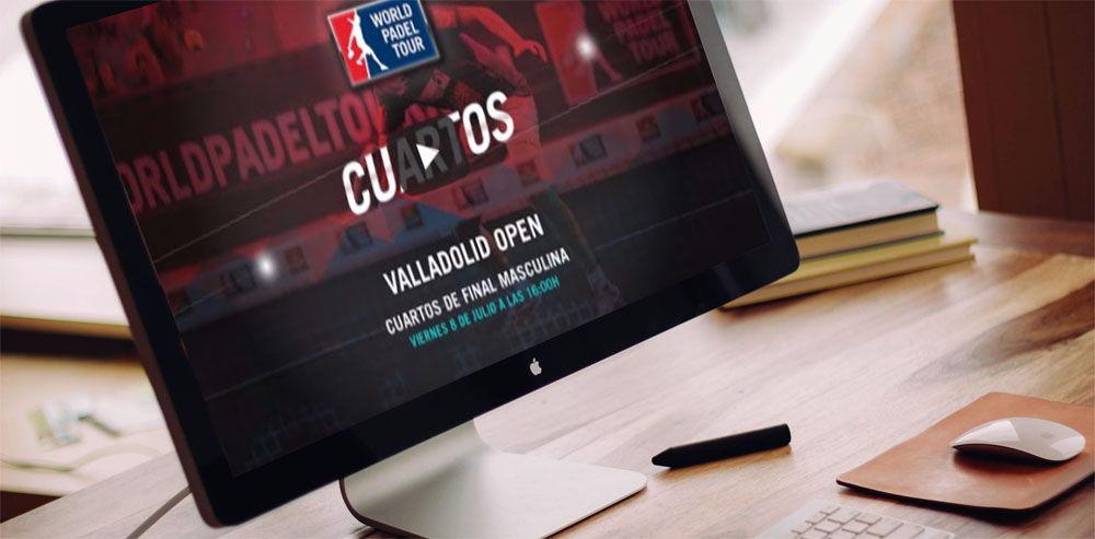 Cuartos de final masculinos World Padel Tour Valladolid 2016 en directo y online