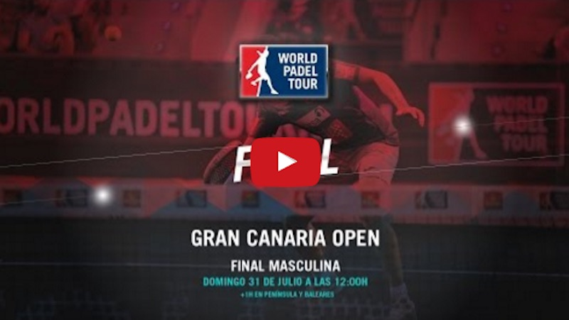 Final World Padel Tour Gran Canaria 2016 en directo y online