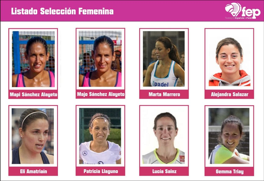 Seleccion española femenina mundial 2016