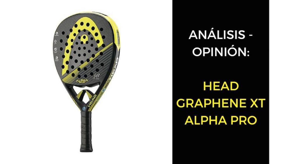 Análisis y opinión Head Graphene XT Alpha Pro