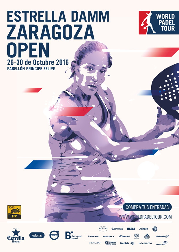 Cuadros World Padel Tour Zaragoza 2016