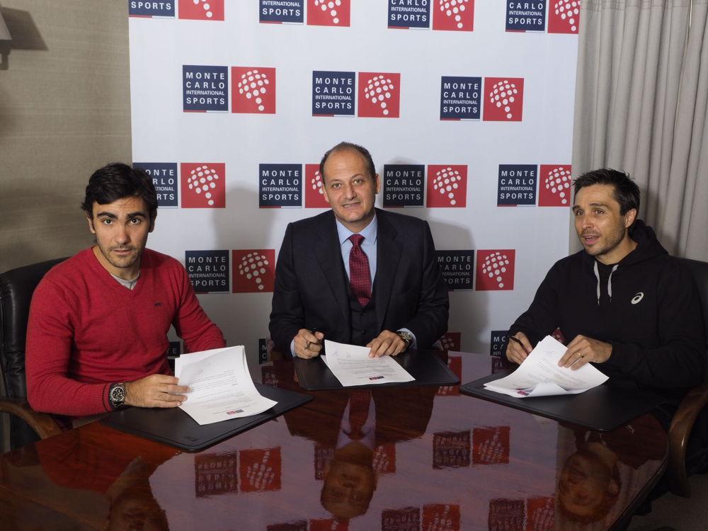 Firma Bela y Lima 1 Bela, Lima y Paquito fichan por Monte Carlo International Sports