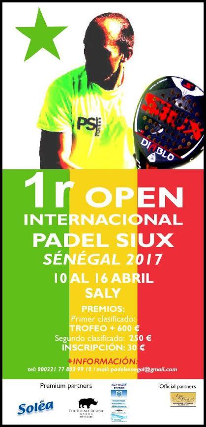 Open Senegal I Open Internacional de Padel Siux Senegal