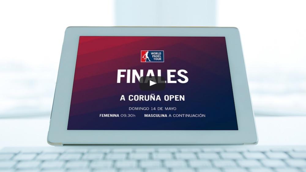 Final Coruña directo 2017 Partidos completos World Padel Tour A Coruña 2017