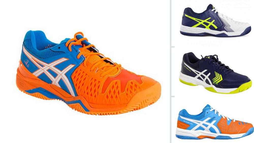 5 zapatillas de Asics para pádel más vendidas