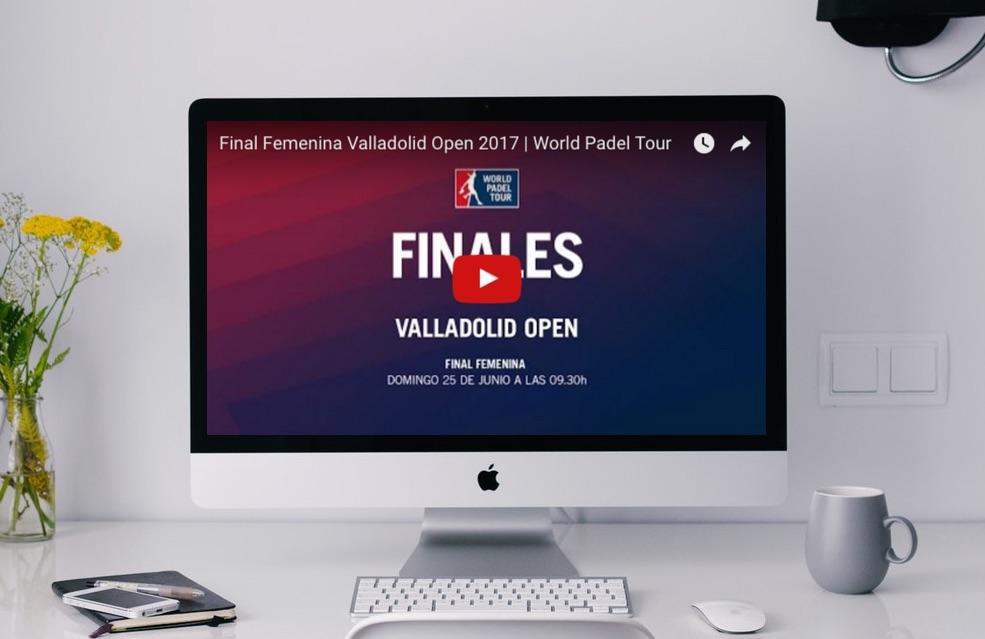 Valladolid final online Partidos completos World Padel Tour Valladolid 2017