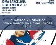 Cuadros y horarios World Padel Tour Challenger Cabrera de Mar 2017